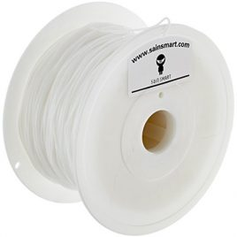 SainSmart TPU Flexible Imprimante 3D Filament, diamètre 1,75mm, diamètre Capacité 1kg Blanc