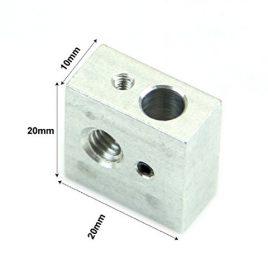 Chauffe-bloc pour imprimantes 3D Makerbot Rep Rap FlashForge Pour Spouters M3 et M6 – Verrou de montage Pour 3D Extrudeuse imprimante cartouche de chauffage de la buse