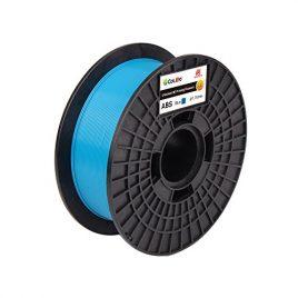 CoLiDo Impression 3D ABS 1.75mm Filament de bobine, 1kg bleu LCD001UQ7J