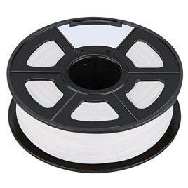 Filament – SODIAL(R)Nouvelle imprimante 3D Printing Filament ABS -1.75mm, 1kg, pour impression RepRap Couleur: blanc