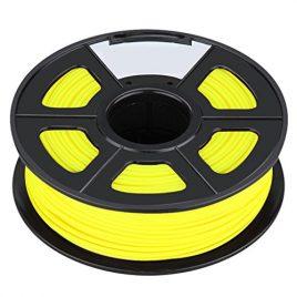 Filament – SODIAL(R)Nouvelle imprimante 3D Printing Filament ABS -1.75mm, 1kg, pour impression RepRap Couleur: jaune