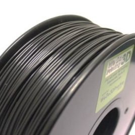 Filament imprimante 3D ABS 1.75 mm Noir 100 m-Leapfrog, Makerbot, UP