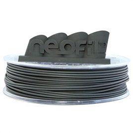 Neofil3D 3760244300812 HIPS Filament pour Imprimante 3D, 1,75 mm, Natural Iron Grey