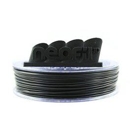 Neofil3D MABS285BK10750G M-ABS Filament pour Imprimante 3D, 2,85 mm, Noir
