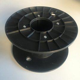 NuNus 3D Filament Bobine (Large) Noir Compatible avec ABS, Pla Hips filaments à 1kg