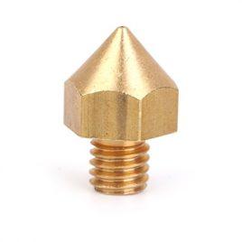 0.4mm Cuivre Buse Tete D'impression Pour Le Filament De 3mm 3d Imprimante Extrudeuse d'Or