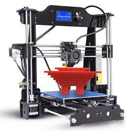 Aibecy TRONXY Imprimante 3D de Bureau Auto-Assemblage DIY Kit, Ecran LCD12864 Cadre Acrylique Haute Précision, Reprap i3 avec Carte TF, Support ABS / PLA / TPU / Bois Filament