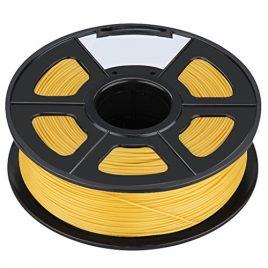 Filament – SODIAL(R)Nouvelle imprimante 3D Printing Filament ABS -1.75mm, 1kg, pour impression RepRap Couleur: Or jaune