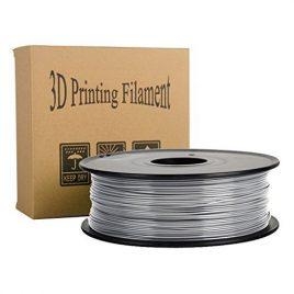 3D Filament PLA , 1.75mm, 1kg, 340m, Filtre d'Imprimante Multicolore Biodégradable pour la plupart des 3D Imprimantes