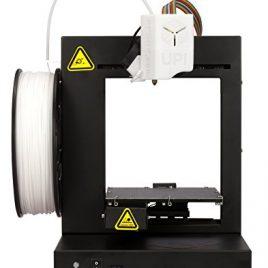 PP3DP UP! Plus2 Imprimante 3D de haute qualité avec kit de démarrage, logiciel incl. Noir