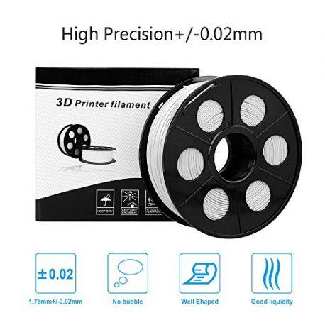 ELUTENG-Filament-PLA-175mm-Imprimante-Filament-3D-Printing-PLA-Blanc-1kg-Printer-Filaments-pour-Reprap-LulzBot-ROBO-et-Impression-3D-Pen-Flexible-0-2