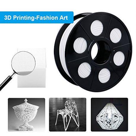 ELUTENG-Filament-PLA-175mm-Imprimante-Filament-3D-Printing-PLA-Blanc-1kg-Printer-Filaments-pour-Reprap-LulzBot-ROBO-et-Impression-3D-Pen-Flexible-0-3