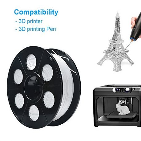 ELUTENG-Filament-PLA-175mm-Imprimante-Filament-3D-Printing-PLA-Blanc-1kg-Printer-Filaments-pour-Reprap-LulzBot-ROBO-et-Impression-3D-Pen-Flexible-0-4