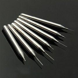 Gaoxing Tech. 0,2 mm à 0,5 mm (ensemble de 7 cps) Broches de perçage pour kit de nettoyage de buse d'impression 3D Préparation