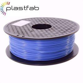 Plastfab – Filament PLA + Bleu 1KG 1.75 mm – PLA renforcé – Qualité premium – Marque Française
