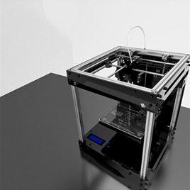 SZXC 3D Printer Ultimaker Cross Shaft Structure Equipment Diy Kit 39 * 36 * 45cm Power 300W