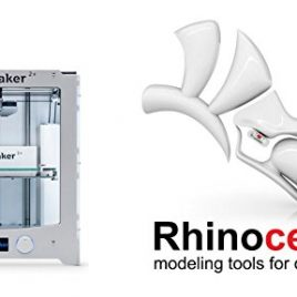 imprimante 3d Ultimaker 2+ et logiciel Rhino 5 for Mac