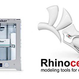 imprimante 3d Ultimaker 2+ et logiciel Rhino 5 for Mac
