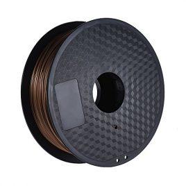 Aibecy ABS Filament 1kg 2,2 lb 1,75 mm – BRUN/JAUNE/VIOLET/ARGENT/GRIS/FLUORESCENCE ORANGE/FLUORESCENCE JAUNE/FLUORESCENCE ROUGE/OR/CARNATION