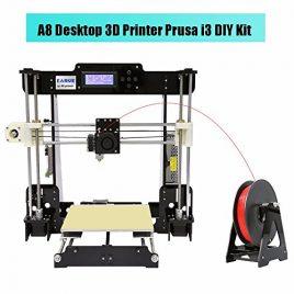 Anet A8 i3 DIY 3D Imprimante Kits, 3D Desktop Acrylic LCD Ecran Imprimante, 3D Printer Auto-Assemblage de Haute Précision