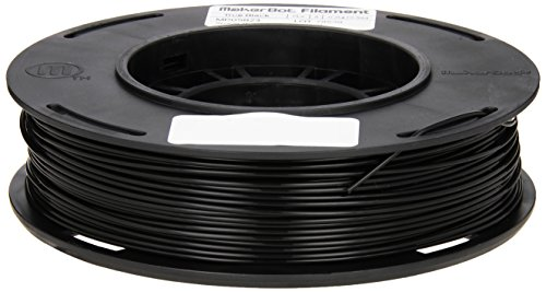 MakerBot MP05823 – Filament PLA d'origine pour imprimantes 3D – Noir (Black)  1,75mm 200g