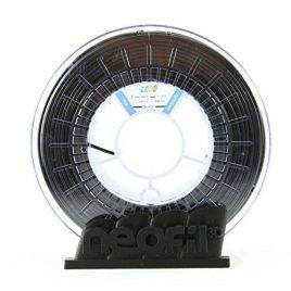 Neofil3D PLA175BK10750G PLA Filament pour Imprimante 3D, 1,75 mm, Noir