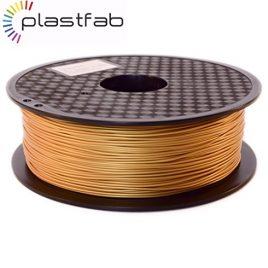 Plastfab – Filament 3D PLA Or 1KG 1.75 mm – Couleur or d'un éclat incomparable – Qualité premium – Marque Française