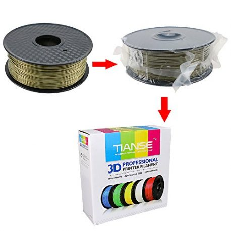 TIANSE-Bronze-PLA-3D-Printer-Filament-1-kg-Spool-175-mm-Dimensional-Accuracy-003-mm-0-3