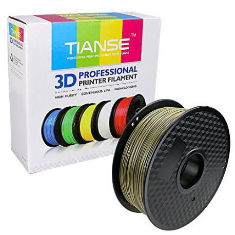 TIANSE-Bronze-PLA-3D-Printer-Filament-1-kg-Spool-175-mm-Dimensional-Accuracy-003-mm-0