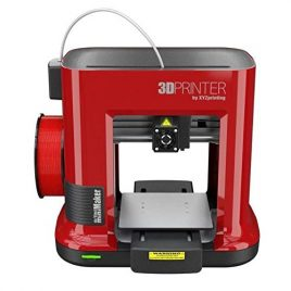 XYZ Printing Imprimante 3D Da Vinci Mini Maker RED – 1 Buse – USB 2.0 – PLA – 1.75mm – Rouge