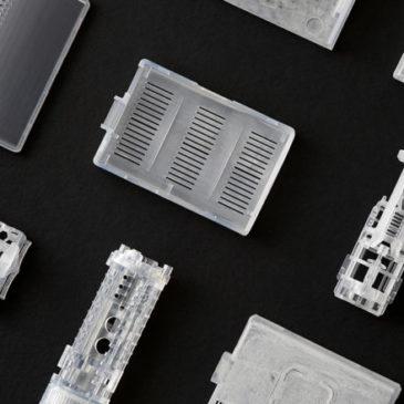 Présentation de trois matières plastiques SLA résistantes